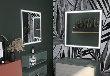 miroir quattro - Sanijura