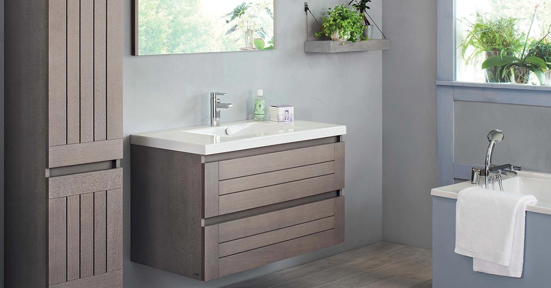 Salle de bain bois lignum - Sanijura