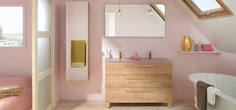 Meuble de salle de bain Luciole de Sanijura