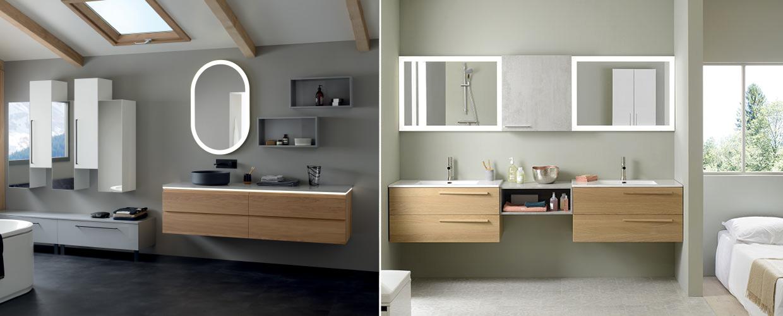Meuble de salle de bain illusion - Sanijura