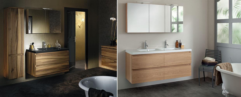 Meuble de salle de bain lignum - Sanijura